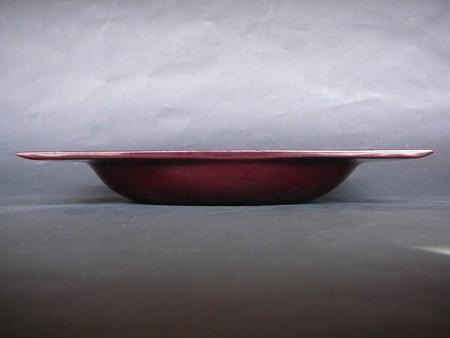 欅浅鉢(朱)