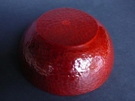 朱の乾口鉢