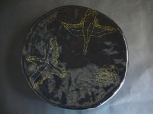 星座文浅鉢